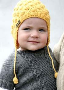 Детские шапки для осени