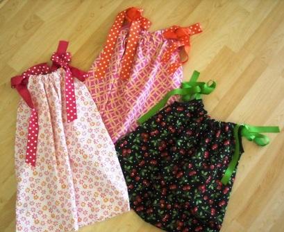 Летнее платье для девочки и выкройкой
