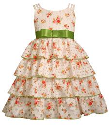 Детские платья воланы