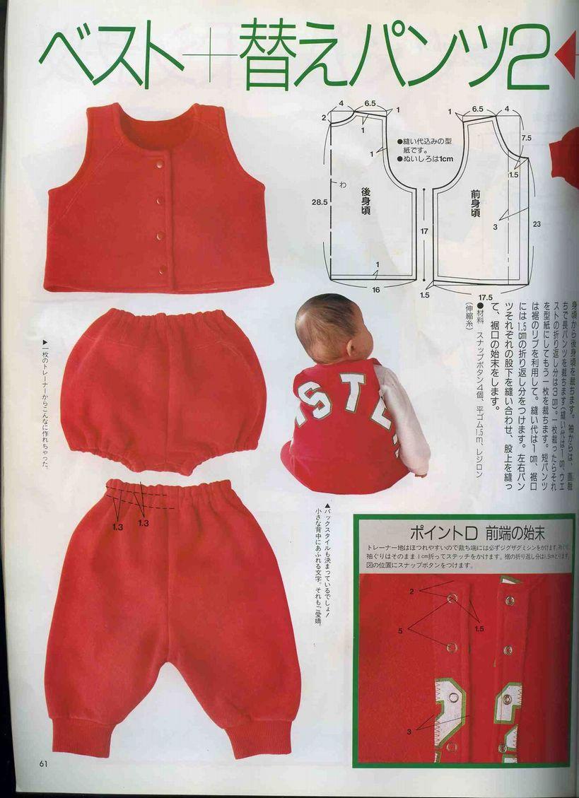 Детская одежда на 3 года своими выкройки