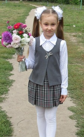 Как сшить жилетку и юбку для девочки